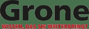 Grone Logo mit Slogan